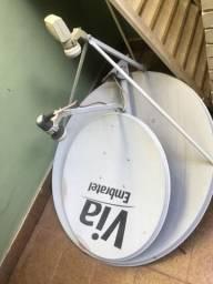 Duas antenas por 30 reais