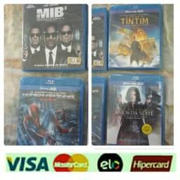 Filmes bluray original lacrado pague cartões