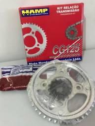 Kit transmissão Cg 125