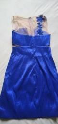 Vestido de festa Azul tamanho 36