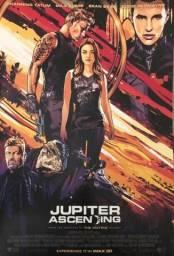 Jupiter ascendente Filme Animado Arte Premier pôster Channing Tatum Mila Kunis