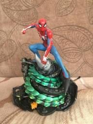 Homem-aranha Estátua Marvel Ps4 Game 2019 Action Figure !!!