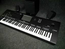 Vendo ou troco teclado Genos pego caro do meu interesse