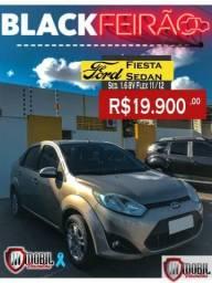 Ford Fiesta Sedan Sed. 1.6 8V Flex 4p - 2012