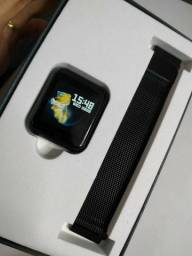 Relógio Smartwatch P70 + 2 pulseiras silicone /metal. Queima de estoque!!
