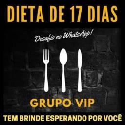 Dietas de 17 dias com grupo VIP