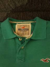 Camisa polo Hollister original novinha