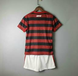 Conjunto Infantil Flamengo Promoção Novo Corre!!!!