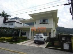 Casa com 4 dormitórios para alugar, 350 m² por r$ 7.500/mês - praia do estaleiro - balneár