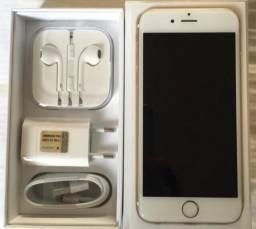 IPhone 6 Dourado 16GB - Aceito iPhone / Ouro (parcelo)