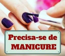 Precisa-se de manicure com experiência.