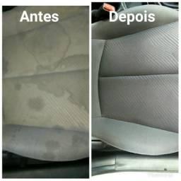 Limpeza a seco e impermeabilização de estofados em geral