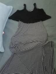Vendo vestido longo,usado apenas 1 vez