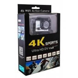 Câmera Action 4k Sports Ultra Hd Dv 30m Water Resistant Wifi