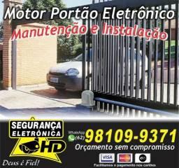 Portão Eletrônicos - Instalação e Manutenção
