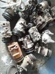 Compressor de ar revisado todas as marcas de carros preço a partir de 350 reais