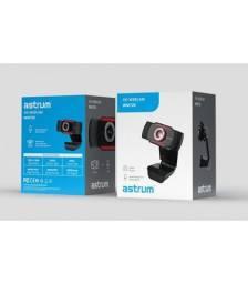 Webcam Com Microfone Astrum Wm720 Resolução 720p