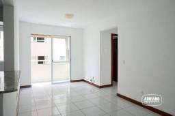 Apartamento com 2 dormitórios para alugar, 57 m² por R$ 860,00/mês - Barreiros - São José/