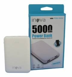 Power Bank Portátil 5000Mah com 2 Entradas Usb Inova