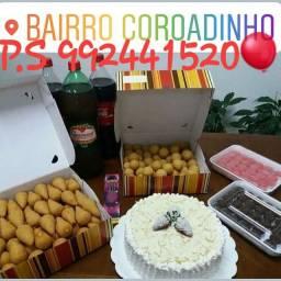 Pacheco Salgados Kit Festa