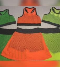 Conjunto roupa malhar academia fitness