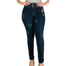 Kit com  6 calças jeans