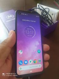 Moto one vision.   128 GB.   Top.