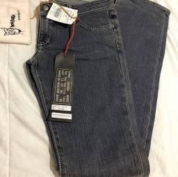 Calca Jeans NOVA - COM ETIQUETA Marca: Docdog Tamanho: 38