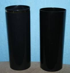 Lote copos pretos para transfer novos