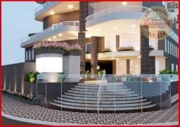 Apartamento com 1 dormitório à venda, 46 m² por R$ 232.000 - Vila Caiçara - Praia Grande