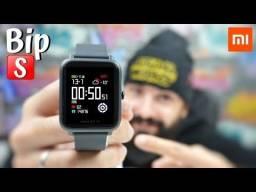 Relogio smartwatch xiaomi Bip S / Preto