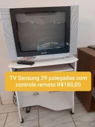 TV 29 polegadas com controle remoto