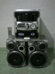 Mini System LG U 1350 com 260 watts