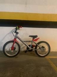 Título do anúncio: Bicicleta infantil aro 16 BTWIN