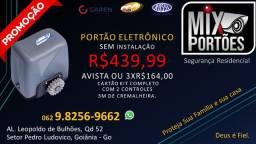 Título do anúncio: Motor P portão eletronico sem instalaçao kit completo