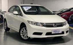 Honda Civic Automatico Completão Banco De Couro Único Dono Revisado IPVA 2021 Vistoriado