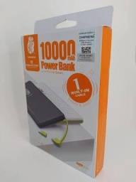 CARREGADOR PORTÁTIL 10.000mAh  (POWER BANK)