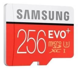 Cartão Micro SDXc Samsung EVO Plus 256GB