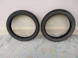 Par de pneus cg,ybr,cbx 150,200