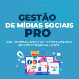 Título do anúncio: Artes para Redes Sociais - Gestão de Mídias Sociais