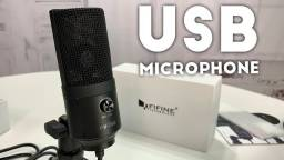 Título do anúncio: Microfone Condensador Fifine K669 USB