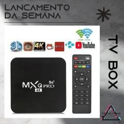 TV BOX - Aparelho Para Transformar Tv Em Smart 16gb Ram 256gb Interno<br>