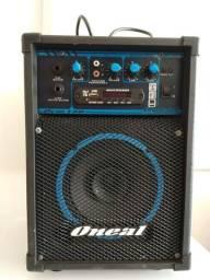 Caixa de som amplificador Oneal 40w
