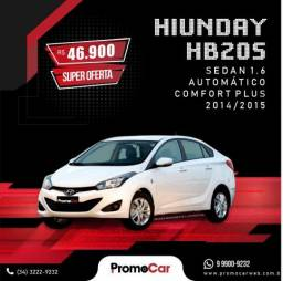 Hyundai HB20S Comfort Plus 1.6 Branco