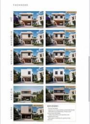 Título do anúncio: Casa de condomínio térrea para venda possui 166 metros quadrados com 3 quartos