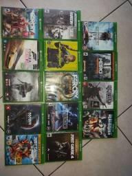 Título do anúncio: Games originais mídia física Xbox One, dou garantia