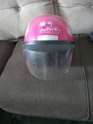 Título do anúncio: Vendo capacete feminino