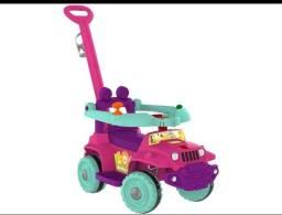 Carrinho de passeio infantil rosa