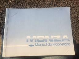 Manual do Proprietário Monza 1989/1990