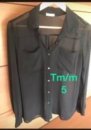 Título do anúncio: Brelzer blusas cojunto dê Langerie